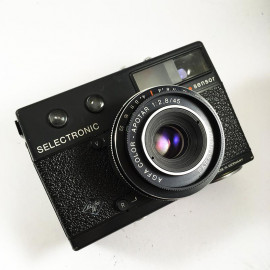 Agfa Selectronic Sensor compact apotar color 45mm 2.8 vintage argentique 35mm