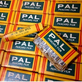Expired analog film Pal Panchro Film Petie mini small little miniature