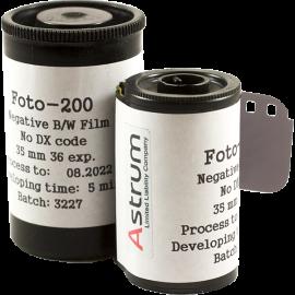 svema astrum ltd foto film photo bw 200 iso black and white analog