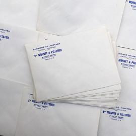 enveloppe papier limonade ancien vintage monnet pelletier imprimerie 1950