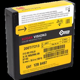 cassette cartouche de film 16mm kodak vision vision3 3 200T 7213 cinema ancien vintage argentique