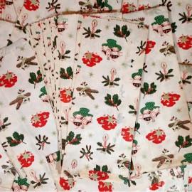 Christmas Bag Paper Kraft Vintage 1970 Gift Joke Shop