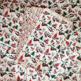 Christmas Bag Paper Kraft Vintage Gift Joke Shop 1970
