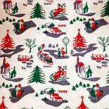 Sachet papier Kraft Noël Vintage Cadeau 1970 Farces et Attrapes 2