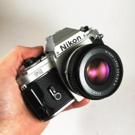 Nikon fg reflex 50mm 1.8 series e argentique photographie 24 36 135 chrome