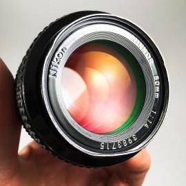 nikon nikomat fs reflex argentique 50mm 1.4 ais nikkor nikkor-s ancien vintage