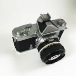 nikon nikomat antique vintage fs nikkor nikkor-s 50mm 1.4 reflex manual analog