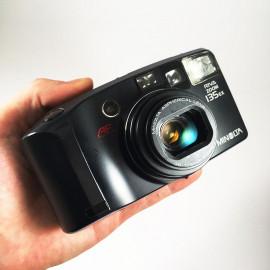 minolta riva af zoom 135 ex point and shoot ancien vintage 38-135mm argentique 1993 compact camera