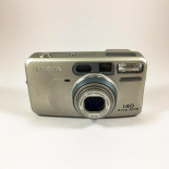 minolta riva af zoom 140 point and shoot ancien vintage 38-140mm argentique 1993 compact camera