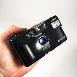 olympus infinity junior af-10 35mm 3.5 compact point and shoot
