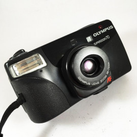 olympus af superzoom 70 zoom point and shoot ancien vintage 38-70mm  argentique 1993 compact camera boite