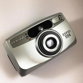 Pentax appareil argentique espio 115V 38 115 35mm compact autofocus zoom ancien 2002