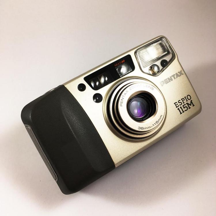 Pentax appareil argentique espio 155m 38 115 35mm compact autofocus zoom ancien 1996
