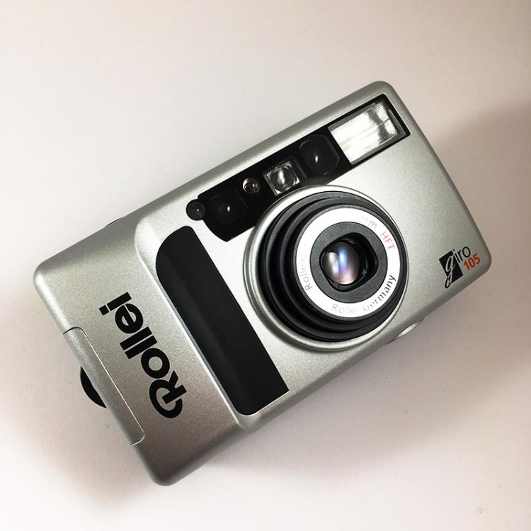 rollei rolleigon 38-105mm compact point and shot giro 105 argentique