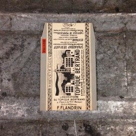 sachet topique bertrand pharmacie santé poison ancien stock vintage 1920