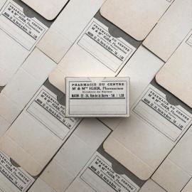 boite de pharmacie anciennedu centre igier blanc vintage 1930 1940 igier macon saone et loire