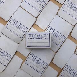 igier pharmacy center 1930 macon vintage antique box wrapping white