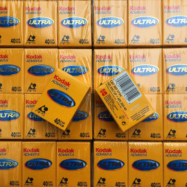 kodak advantix aps ultra 200 40 exposures film analog expired 2008 rare format