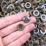 bouton ancien corozo 14mm 1940  loi du 30 avril 1941 armée kaki vintage