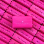 little monsavon royal violette soap still wrapped vintage antique 1960 pink