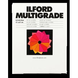 ilford multigrade set 12 filtres papier photo noir et blanc tirage argentique agrandisseur filtre de contraste