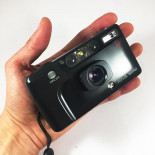 minolta riva mini af point and shoot vintage 34mm  analog 1991 compact camera