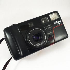 nikon tw2 zoom 35 70 macro analog camera vintage 35mm double lenses