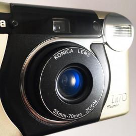 Konica Z up super 35-70mm compact argentique zoom