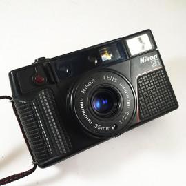nikon l35af2 L35 AF2 compact point and shoot autofocus  35mm 2.8