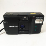 olympus am-100 automatic point and shoot compact 35mm 3.5 analog