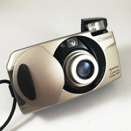 Canon XL autoboy Luna analog film camera compact 35mm 28-70mm vintage