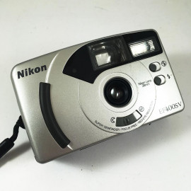 Nikon EF400SV 28mm wide angle compact antique vintage 28mm 5.6 35mm film point and shoot compact analog 1999