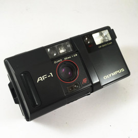 olympus af1 af-1 automatic point and shoot compact 35mm 2.8 analog