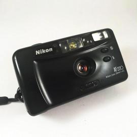 nikon AF220 compact 29mm 4.5 point and shoot autofocus sure shot vintage camera film analog