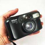 nikon AF 200 compact autofocus point and shoot sure shot appareil argentique 38-70mm 4.7 8 135 vintage ancien