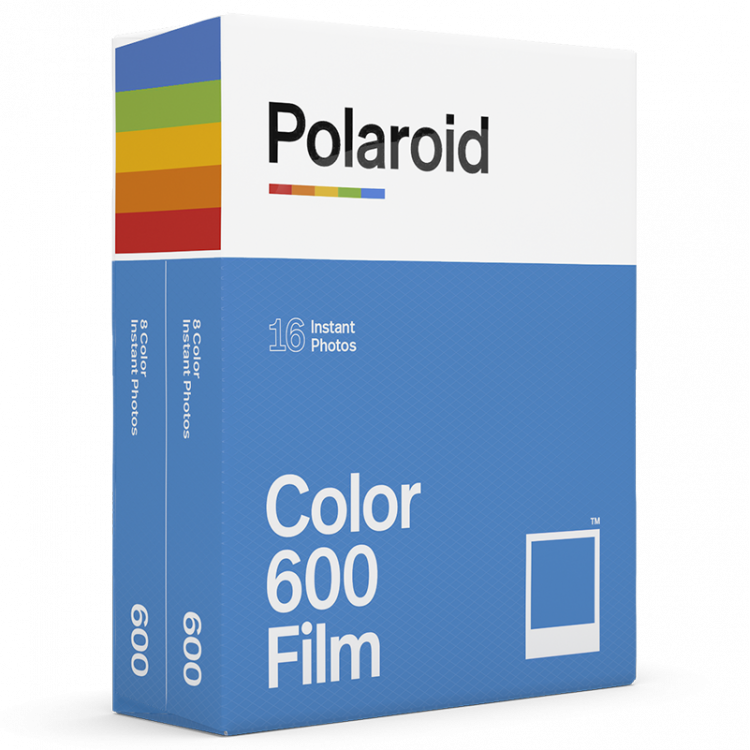bipack twin double pack set polaroid originals impossible film 600 color for polaroid white frame vintage 2 films