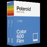 bipack 2 films pellicule polaroid film impossible project 600 couleur bord blanc