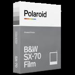 pellicule polaroid film SX70 impossible project noir et blanc 1000 bord blanc