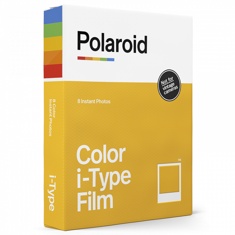 polaroid i-type instant color film for i type cameras not vintage white frame
