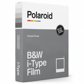 pellicule instantanée polaroid i type i-type one step 2 one step plus now noir et blanc bord blanc