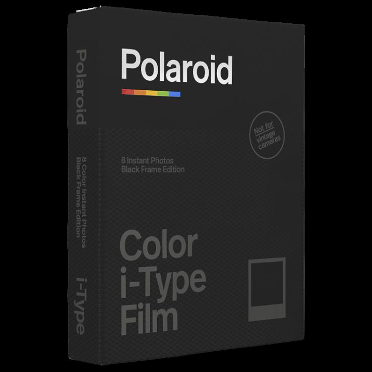 Pellicule Polaroid I-Type Couleur bord noir film instantané 2 plus now photo