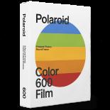 pellicule polaroid film impossible project 600 couleur bord blanc rond photo instantanée arrondi