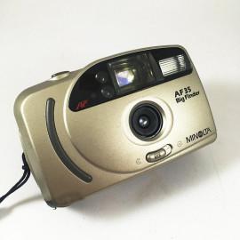 Minolta af35 big finder autofocus antique vintage 34mm 4.5 point and shoot compact analog 1999