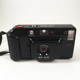 minolta af e2 af-eII point and shoot ancien vintage 35mm 4.5  argentique 1987
