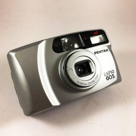 pentax espio 60s 35mm 60mm point and shoot flash analog compact 135