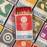 boite bois allumettes  seita jeux olympiques jo mexico 1968 tabac