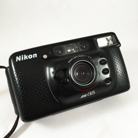 Nikon AW35 all weather autofocus antique vintage 35mm 3.5 point and shoot compact analog 1992
