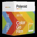 pellicule instantanée polaroid double pack bi-pack miniature mini petit polaroid go 16 photos couleur bord blanc