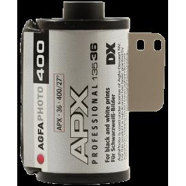 Agfa apx 400 pellicule argentique 35mm noir et blanc 400 iso film