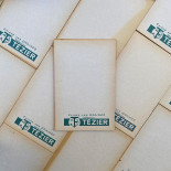 advertising old seed tezier garden bill note scratch pad vintage 1960